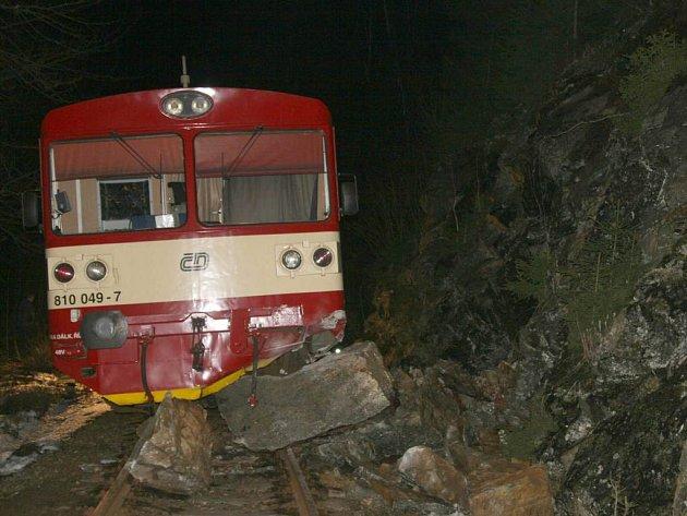 Nehoda vlaku u Starého Města