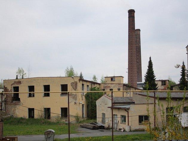 Areál bývalého závodu Perla v Zábřehu.