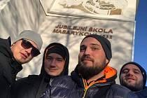 Michal Zubík s přáteli se vydal na cestu na území bývalého Československa, do Užhorodu na Podkarpatské Rusi.