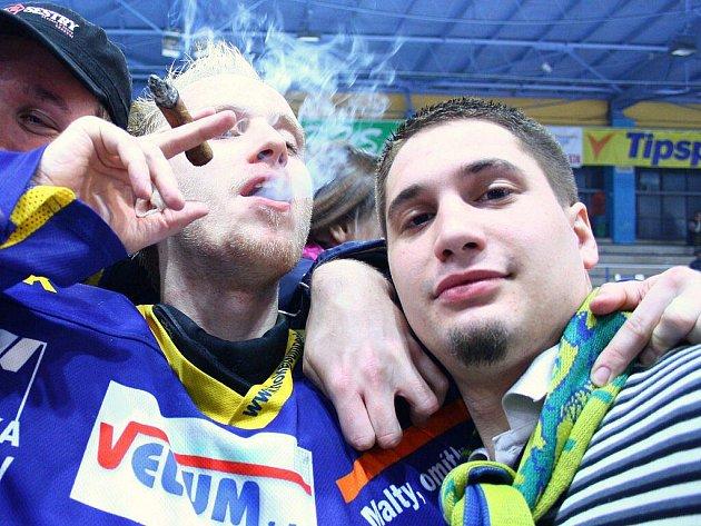 Bez komentáře (nafoceno po utkání baráže o 1. ligu Draci vs. Most ve čtvrtek 31. března 2011)