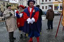 Tradiční cechovní zabijačka se konala v neděli 12. prosince na mohelnickém náměstí