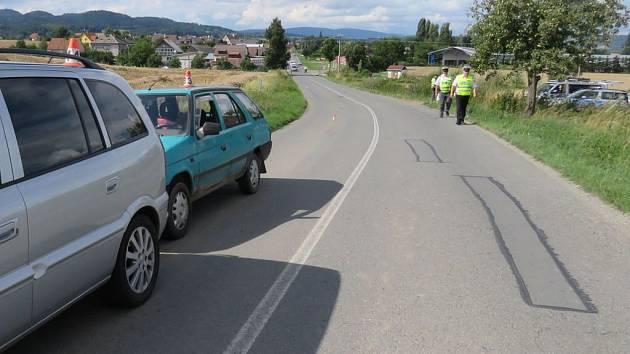 Nehoda opilého šoféra formanu u Rovenska