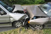 Příčinou nehody v mezi Rovenskem a Svébohovem byla nepřiměřená rychlost