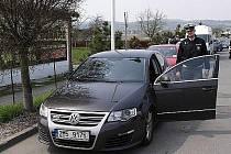 Policejní Passat R36