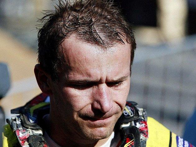 Martin Žerava na snímku z červnového závodu mistrovství světa v Poběžovicích u Holic