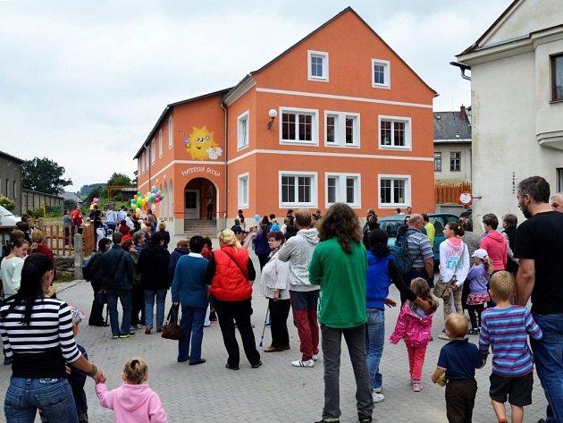 Nová mateřské škola ve Starém Městě.