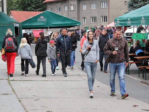 Pivovarské slavnosti v sobotu 2. září v Hanušovicích.