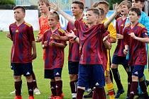 Mladí fotbalisté Šumperku U13. Ilustrační foto