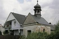 Kaplička v mohelnických Horních Krčmách