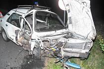 Nehoda v Pobučí.