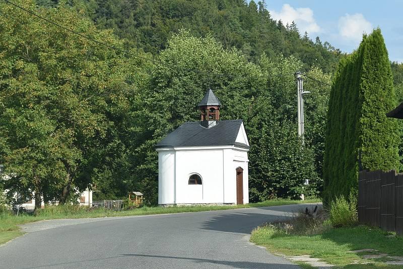 Oskava - kaple v Nemrlově.