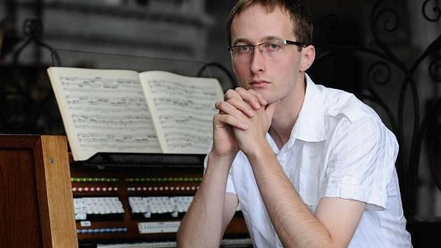 Varhaník Pavel Svoboda bude jedním z účinkujících na festivalu Šumperské preludium