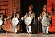 V pátek a v sobotu se na hlavních pořadech Mezinárodního folklorního festivalu v Šumperku představily postupně dvě desítky souborů. Mezi nimi byl i soubor z Turecka.
