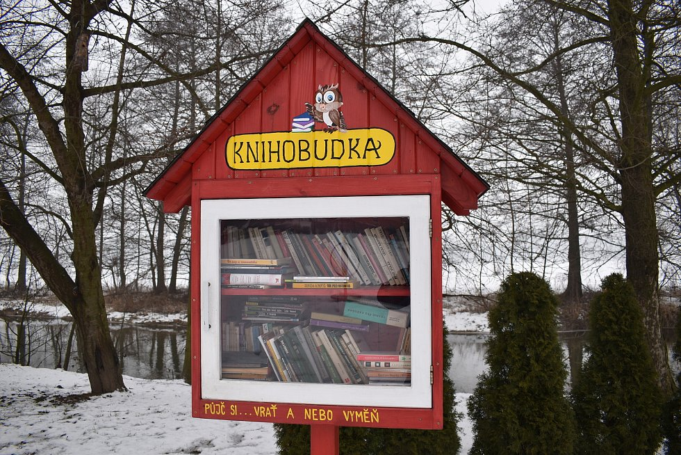 Sudkov - knihobudka
