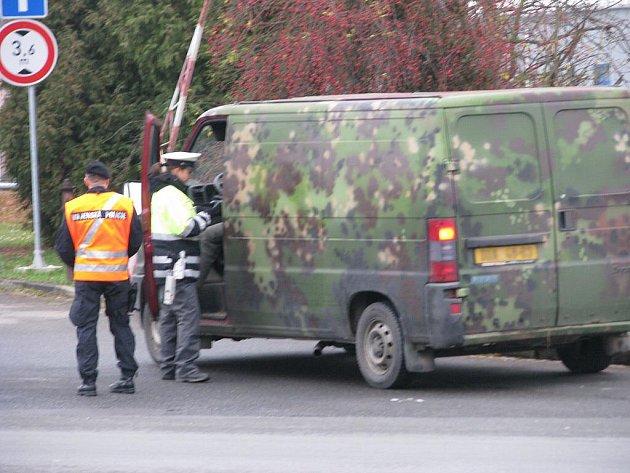 Velká dopravně bezpečností akce začala v pátek 19. listopadu na Šumpersku