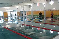 Stavba krytého bazénu v Zábřehu skončila, čeká se už jen na kolaudaci. Provoz by měl začít nejspíš 10. října