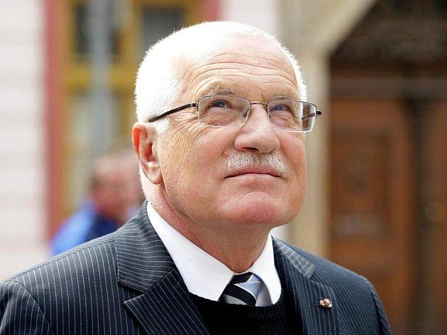 Václav Klaus se chystá do Zábřehu