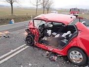 Nehoda na Bludovském kopci, 23. března 2017