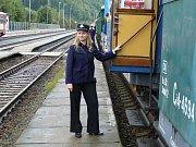 Video z parního vlaku.