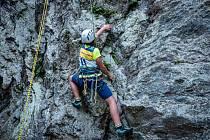 Soutěž Mladí horalové proběhla na cvičných skalách na Rabštejně