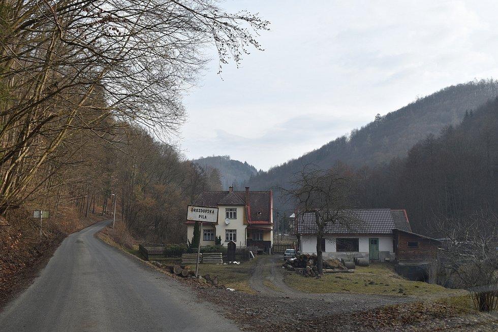Osada Drozdovská Pila.