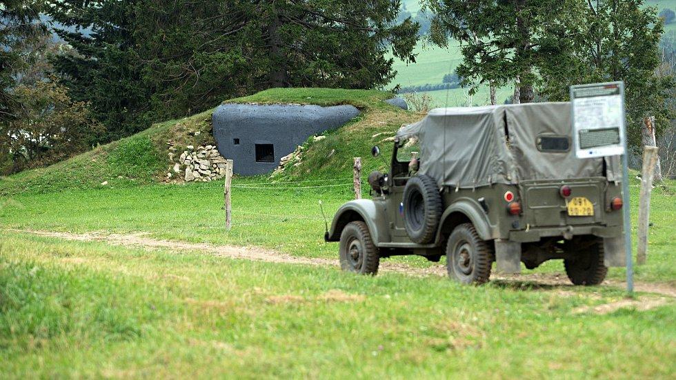 Obnovený bunkr v Hynčicích pod Sušinou v areálu Kraličák