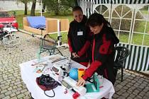 Zábřežská Charita mohla díky novému projektu rozšířit své vybavení o zdravotnické přístroje a kompenzační pomůcky pro hospicové pacienty.