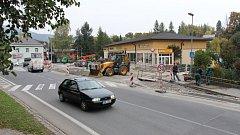 Parkoviště u podniku Yesenka v Jeseníku bude od půli listopadu sloužit veřejnosti.