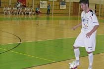 Futsalová Delta u míče