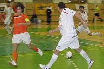 Futsalisté šumpreské Delty v bílém