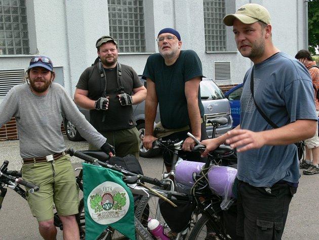 2008. návštěvníkem hanušovického pivovaru se stal Petr Hejda z Olomouce (vpravo).