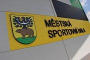 Otevření nové sportovní haly v Jeseníku.