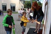 Zahájení školního roku v Základní a mateřské škole údolí Desné, pracovišti Sobotín