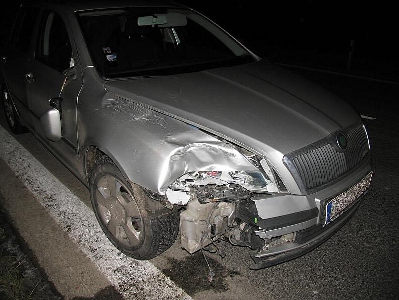 Dopravní nehoda v Libivé