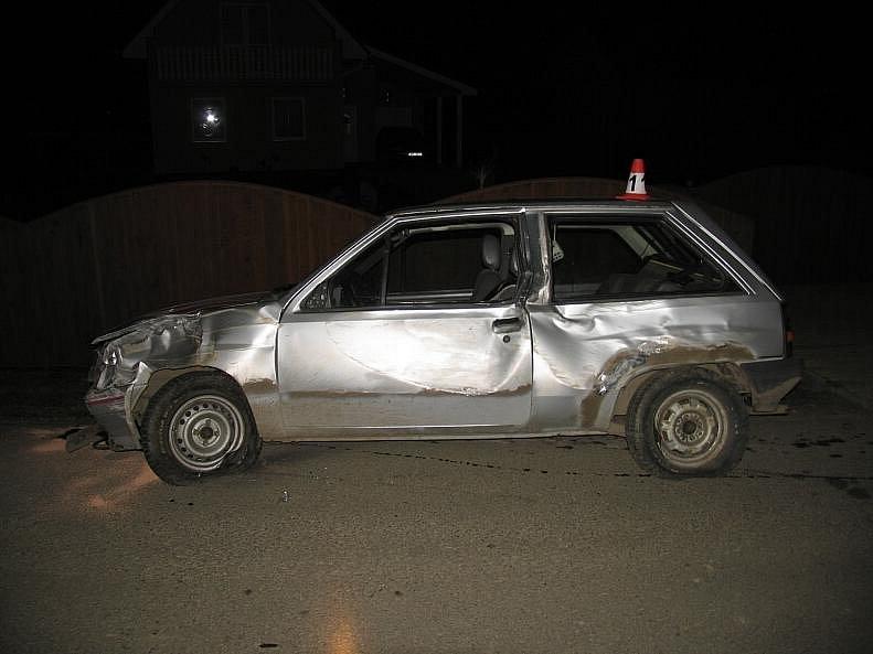 Dopravní nehoda ve Vikýřovicích