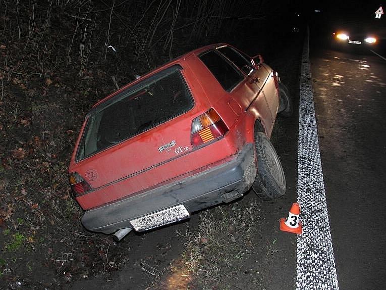 Dopravní nehoda v Bušíně