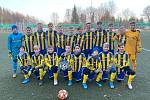 Mladí fotbalisté Šumperku během lednové akce v Německu.