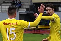 Radost šumperských fotbalistů. Ilustrační foto