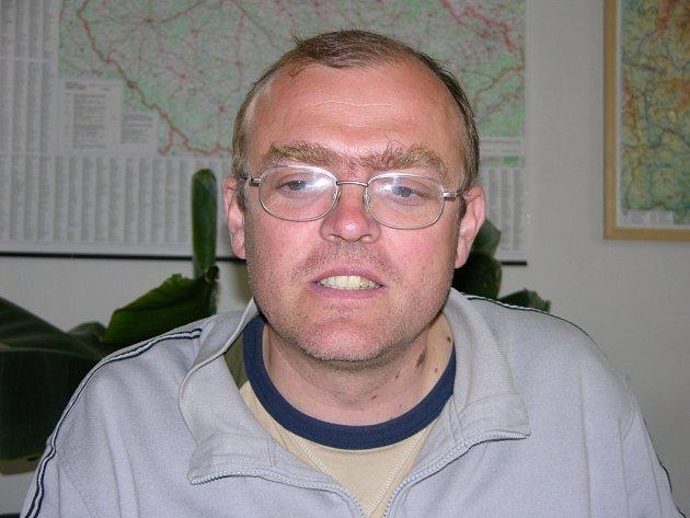 Starosta Loučné Pavel Martínek.