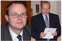 Pavel Němec (vlevo) a Petr Krill