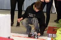 Soutěž robotů žáků základních škol v Šumperku