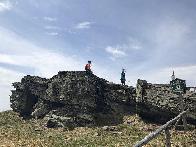 Turisté vyrazili na Šerák a Keprník. (10.května 2020)