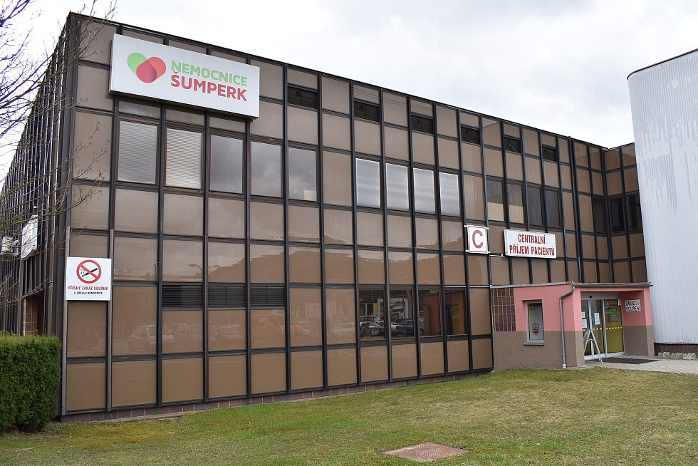 Nemocnice Šumperk. Pavilon C