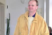 Ivan Vavřík 14. října před jednáním Okresního soudu v Šumperku