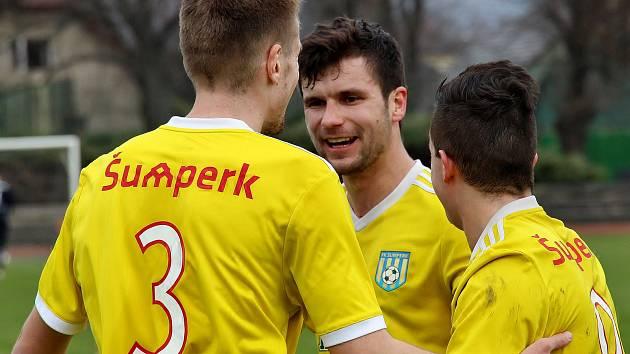 Fotbalisté Šumperku. Ilustrační foto