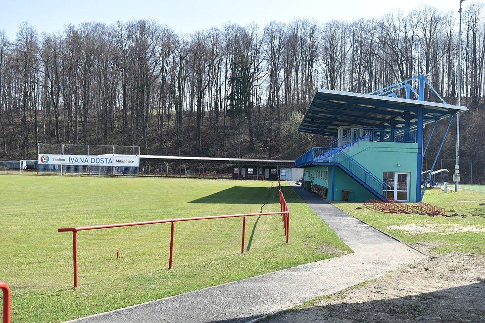 Mikulovice - stadion Ivana Dosta