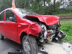 Nehoda v Mikulovicích