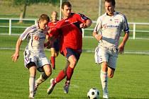 Mohelnice versus Mikulovice (červené dresy)
