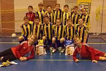Tým šumperských fotbalistů na turnaji ve Velké Bystřici