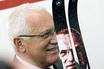 Václav Klaus je velkým příznivcem lyžování
